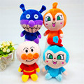 Japan Anime Figures Anpanman Baikinman Bread Superman Plush Toys Dolls Kids Children Gift 4pcs/lot 20cm