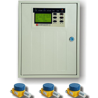 16 ZONE Gas Fire Controller Work With ExdIIBT6 Co Detector And ExdIIBT6 Gas Detector Gas Alarm