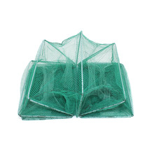Shrimp Cage Fishing Net Catcher Trap Foldable Portable For Crab Crayfish Lobster  JT-Drop Ship