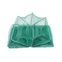 Shrimp Cage Fishing Net Catcher Trap Foldable Portable For Crab Crayfish Lobster  JT-Drop Ship