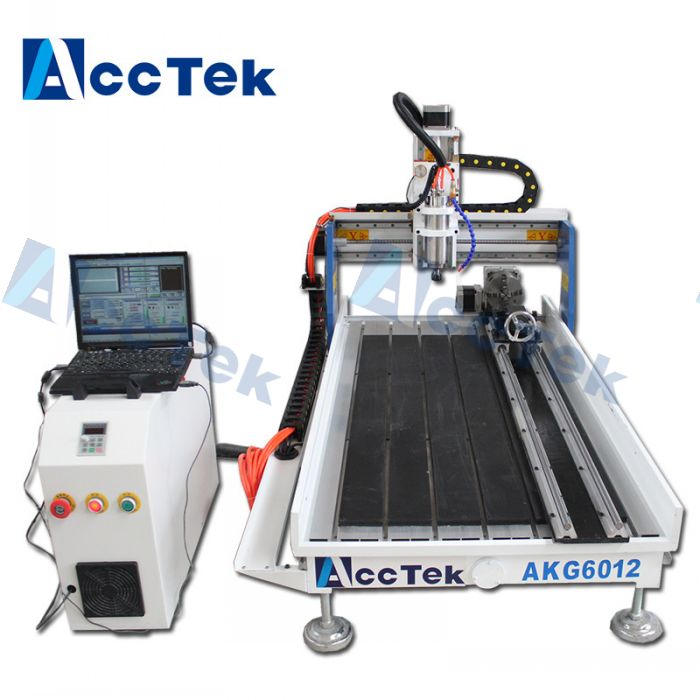 Jinan AccTek machine AKG6012  wood cnc router pricescnc router buyer for pvc,wood,mdf
