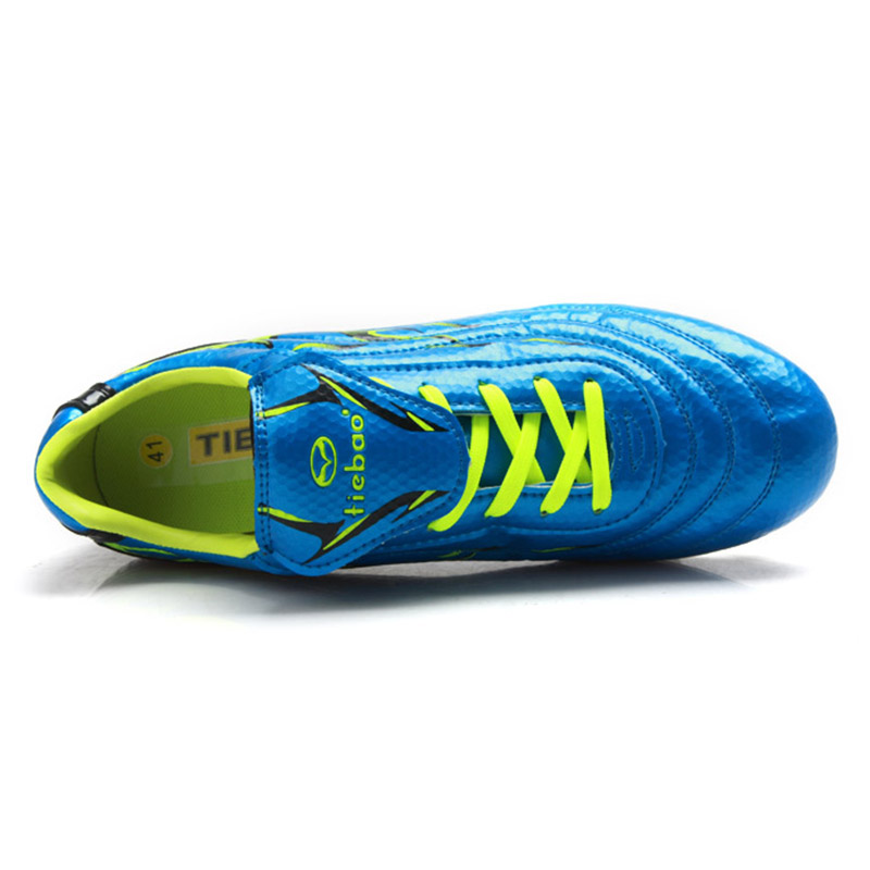 fe9444e0e9b TIEBAO Professional Soccer Shoes FG   HG Soles Soccer Cleats Football Shoes  Soccer Men Teenagers Training Football Boots-in Soccer Shoes from Sports ...