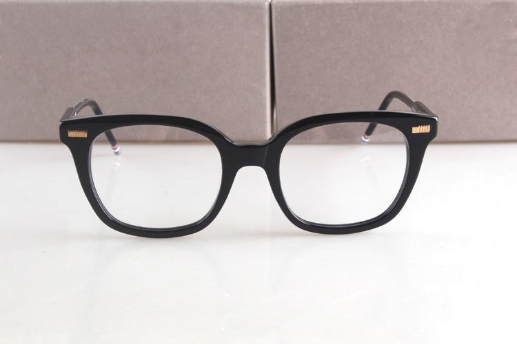 a6065f69ab5 2017 New York Brand THOM Eyeglasses Frames Vintage prescription Glasses  TB405 Optical Frame Oculos De Grau Free Shipping -in Eyewear Frames from  Apparel ...