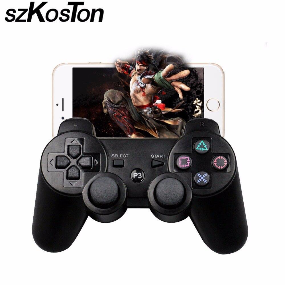 2,4G Drahtloser Bluetooth Spiel-steuerpult Für sony playstation 3 PS3 Controle Joystick Gamepad Joypad Game Controller