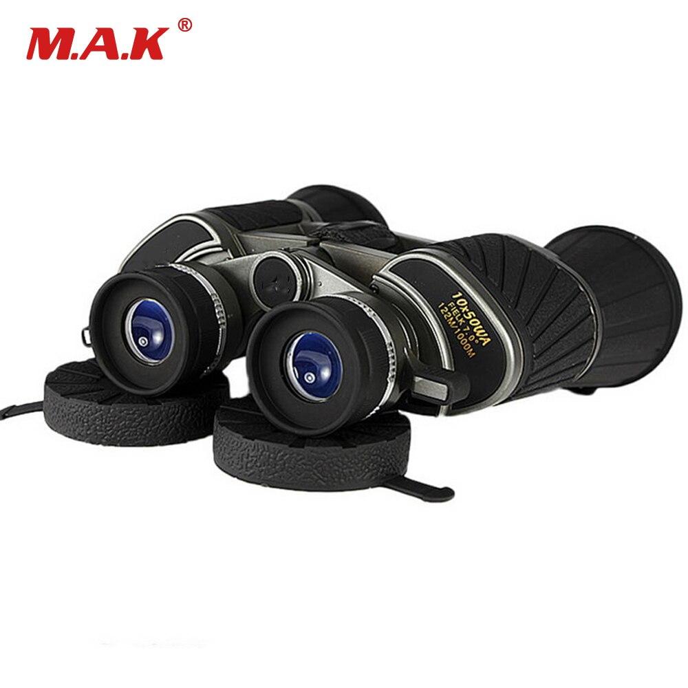 Military HD 10X50 Binoculars Telescope K7 Big Eyepiece Wide Field Field of View 122m/1000m for Outdoor Watching Hunting