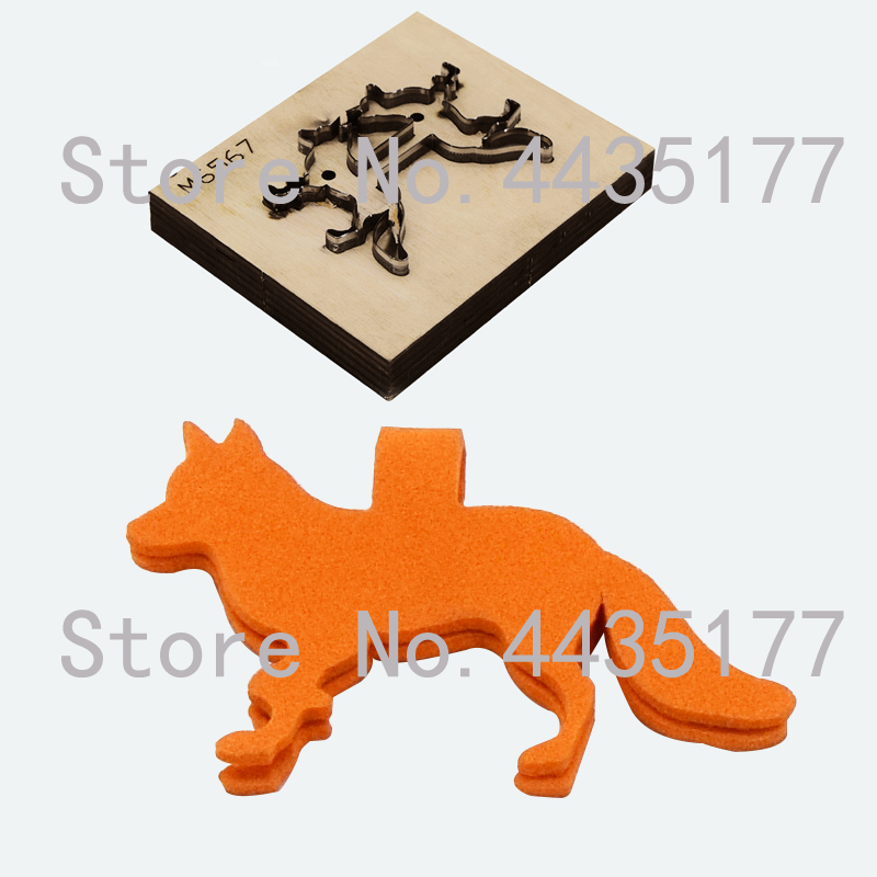 Japan Steel Blade Die Cut Steel Punch Wolf Animals Cutting Mold Wood Dies Cutter Template for Leather CraftsJapan Steel Blade Die Cut Steel Punch Wolf Animals Cutting Mold Wood Dies Cutter Template for Leather Crafts