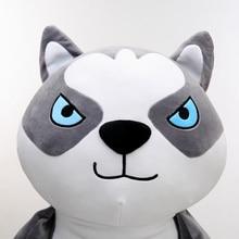 80cm Funny Plush Dogs Toys Soft Pillow Cushion Cotton Stuffed Home Decor Cute Plush Husky Dog Bulldog Dolls
