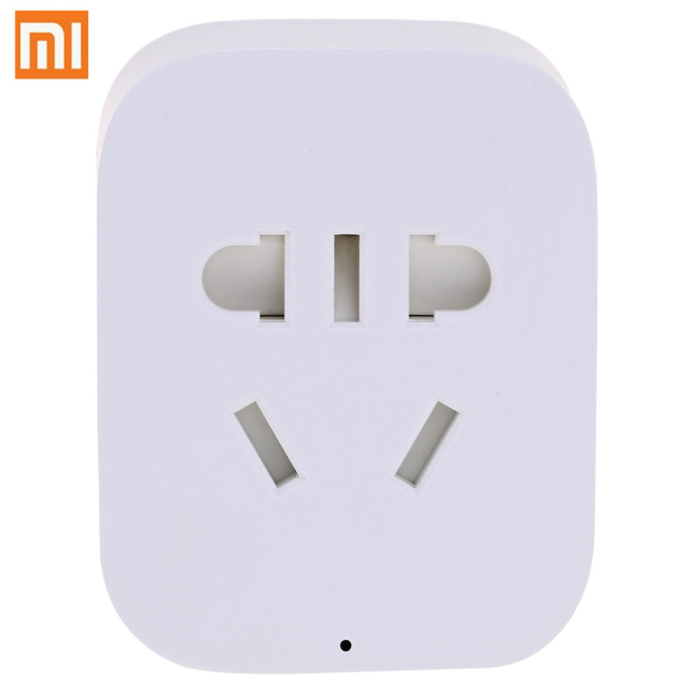 Xiaomi Mi Mijia ZigBee Smart Socket WiFi APP Wireless Control Switches Timer Plug for Android IOS work with Mi home App original xiaomi mi smart wifi socket app remote control timer power plug power detection zigbee version