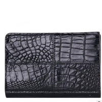 Alligator Genuine Leather High Grade Men Purse Fashion Luxury Cow Leather Multifunction Business Men Long Style Wallet