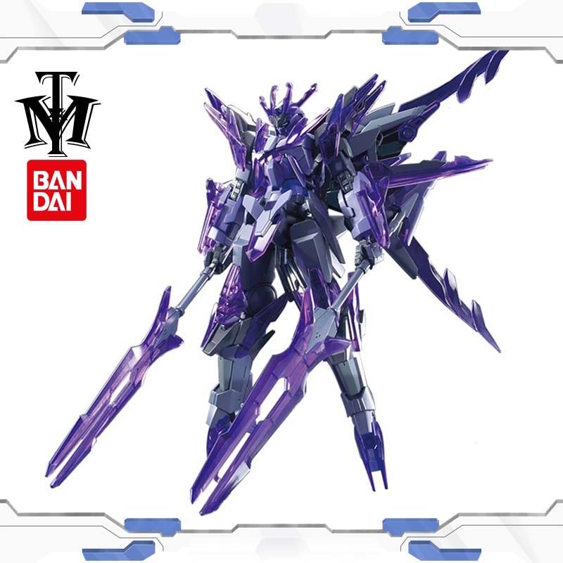 Bandai переходный ледник Gundam высокого класса 1:144 модель HGBF попробовать GN-10000 HG Детские Рождественские подарки Робот-Паззл мальчик аниме игрушк...