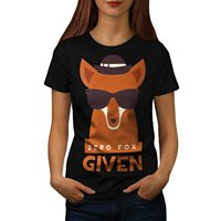 Zero Fox Given Urban Wildlife Women S XL T Shirt High Quality 100 Cotton Designer Women