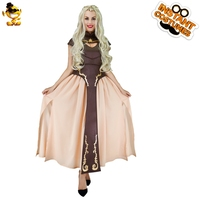DSPLAY Women's Barbarian Game of Thrones Costume Party Movie Outfits Cosplay Fancy Dress for Halloween