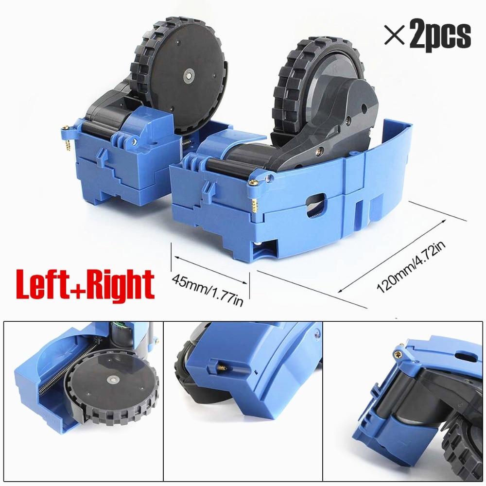 Esquerda direita roda módulo do motor para irobot roomba 600 700 500 series 620 650 660 595 780 760 770 peças aspirador de pó irobot roda
