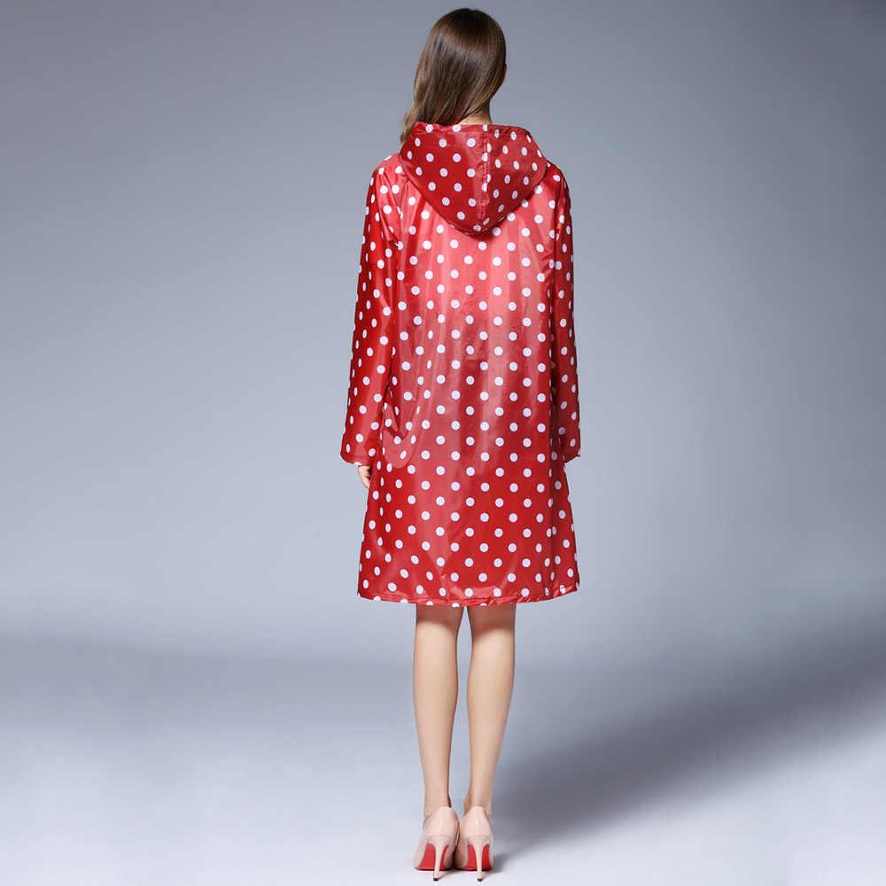 Meisje Lady Hooded Regenjas Outdoor Reizen Waterdichte Rijden Doek Regen Jas Voor Vrouwen Poncho Lange Regenkleding Regenjas Jas