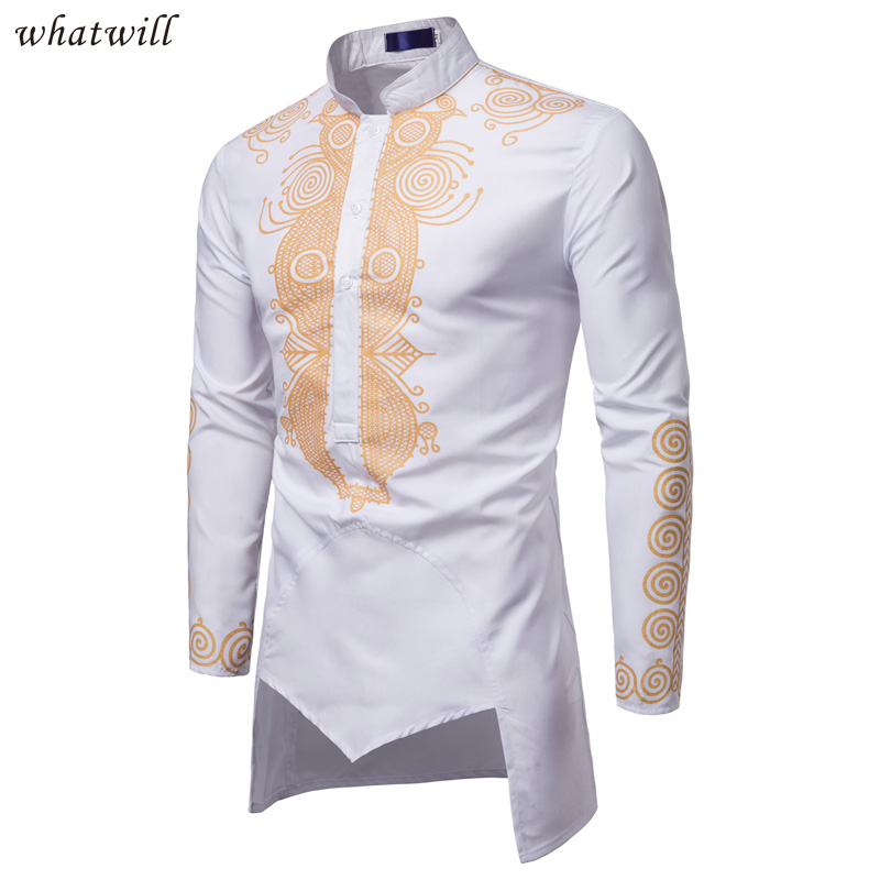 Dashiki Shirts Mens Fashion Africa Clothing Pullovers African Dress Clothes Hip Hop Robe Africaine Casual World Apparel