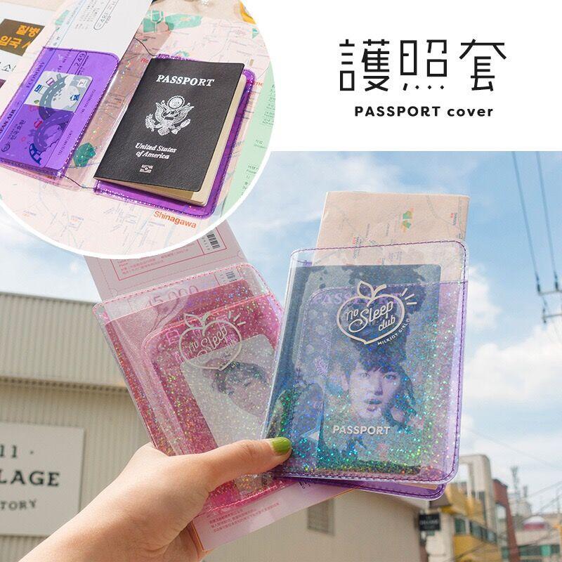 Passport-Case New-Card-Bag Travel Ticket Bentoy Milkjoy Girls Waterproof Women Korea