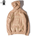 Good Quality Pablo Hoodie for Men Women Kanye West Yeezy Season 3 The Life of Pablo Pair City Hooded Sweatshirt Stree Pullover