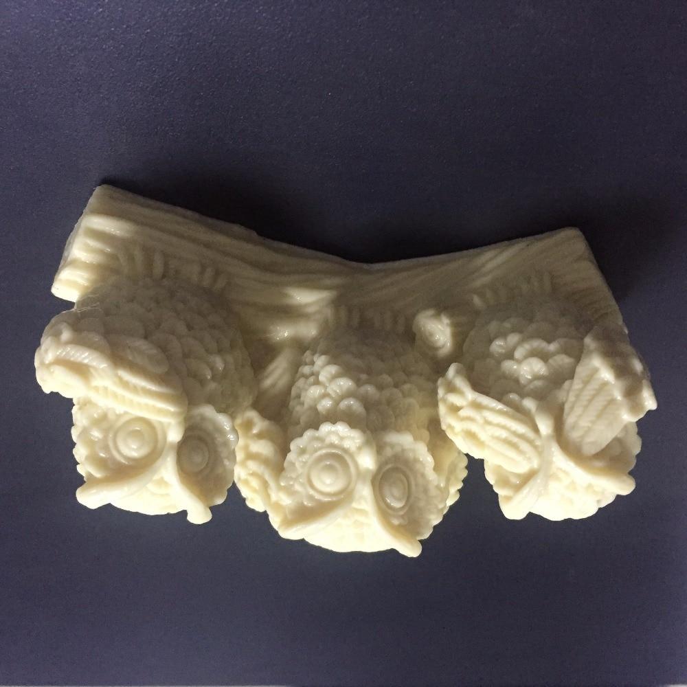 3D sova silikonske plijesni sova sapun sapun plijesni sove silikonske - Kuhinja, blagovaonica i bar - Foto 4
