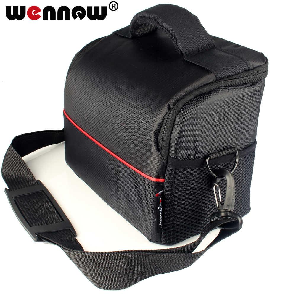 Водонепроницаемый Камера сумка чехол для цифровых зеркальных фотокамер Nikon D5300 D5200 D3300 однообъективной зеркальной камеры Canon EOS M6 M50 200D 1500D 1300D 1200D 1100D 100D 600D 760D 750D 700D