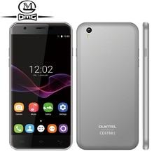 """Оригинальный Oukitel U7 Max MTK6580A Quad Core Android 6.0 смартфон 3 г WCDMA 5.5 """"1280*720 P двойной SIM 1 ГБ оперативной памяти 8 ГБ ROM мобильный телефон"""