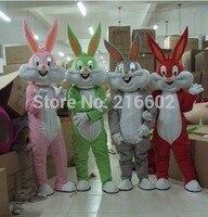 Багз Банни костюм талисмана для взрослых костюм талисмана продаж индивидуальный мультяшный костюм для Хэллоуин костюмы для праздников