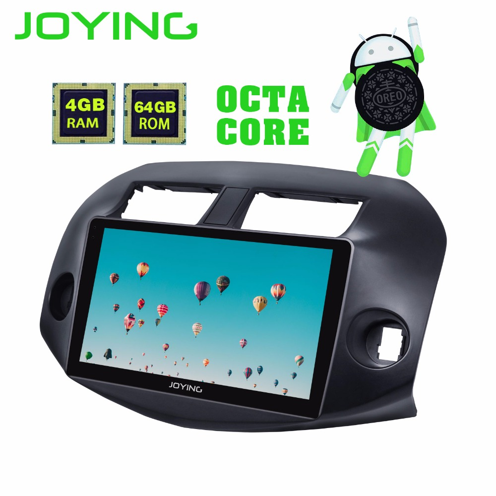 цена на JOYING 4GB+64GB car radio GPS Navigation 2 din 10.1