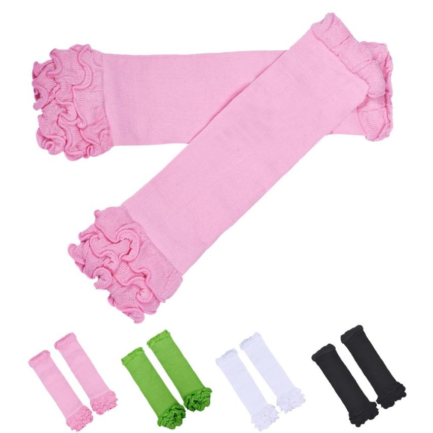 baby leg warmers with ruffles cotton color leg warmers for girls foot warmer knee socks  ...