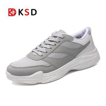 2a6f1124 Новые мужские кроссовки Ourdoor Прогулки кроссовки на шнуровке спортивная  обувь удобные Training Run спортивная обувь мужской размер 39 -47