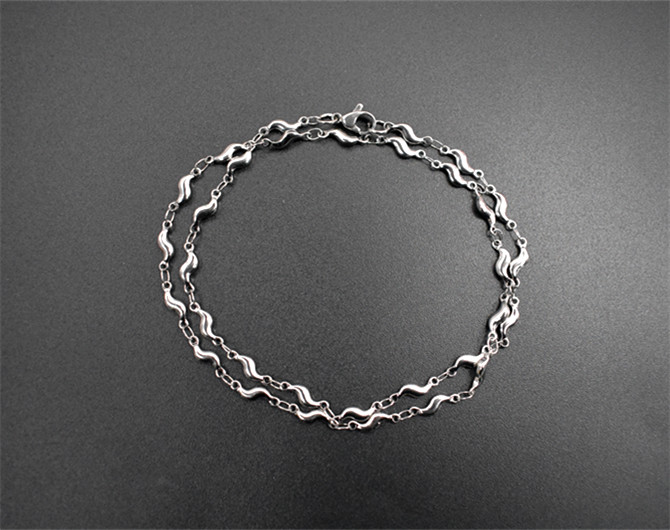 High quality 45cm long stainless steel women necklace chain hanging high quality 45cm long stainless steel women necklace chain hanging pendant homemade necklace bracelet in chain necklaces from jewelry accessories on aloadofball Gallery