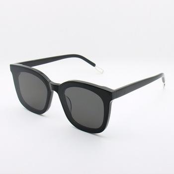 Okulary przeciwsłoneczne damskie 2018 Retro okrągłe okulary mężczyźni czarne okulary damskie okulary przeciwsłoneczne wysokiej jakości koreański okulary przeciwsłoneczne Papas tanie i dobre opinie EyeGlow Owalne Spolaryzowane UV400 Octan Kobiety Dla dorosłych Polaroid 42mm 46mm ov5256