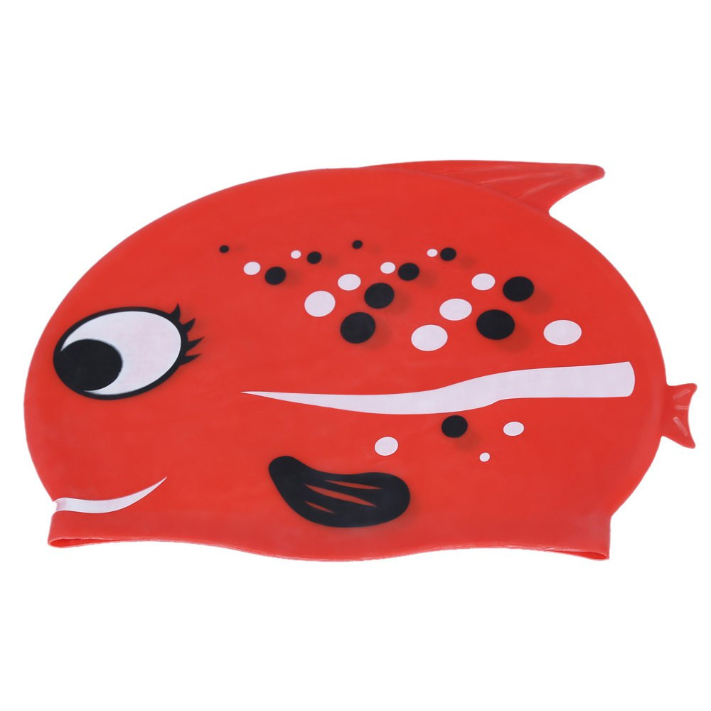 Badecape Kinder Us 13 Nette Kinder Badekappe Cartoon Wasserdicht Haarpflege Elastische Silikon Badekappe Mit Fish Shark Muster In Nette Kinder Badekappe Cartoon