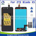 Original For ZTE Blade X5 / Blade D3 T630 LCD DIsplay + Touch Screen Digitizer Assembly+TOOLS