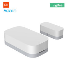 Xiaomi Aqara Window Door Sensor ZigBee Version Smart Home Linkage for MiHome APP MIJIA Wireless Connection Entry Bell Alarm(China)
