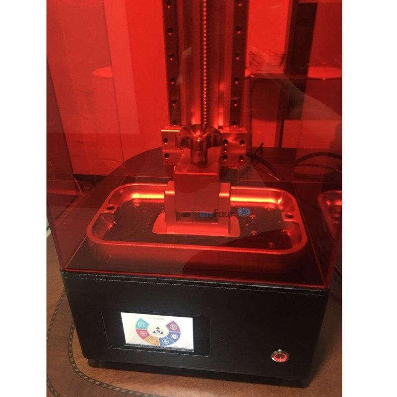 Tianfour nouveau x-cure V3 lumière durcissement UV SLA/LCD/DLP 3D imprimante 2 k avec haute précision bijoux dentisterie pièces de précision - 4