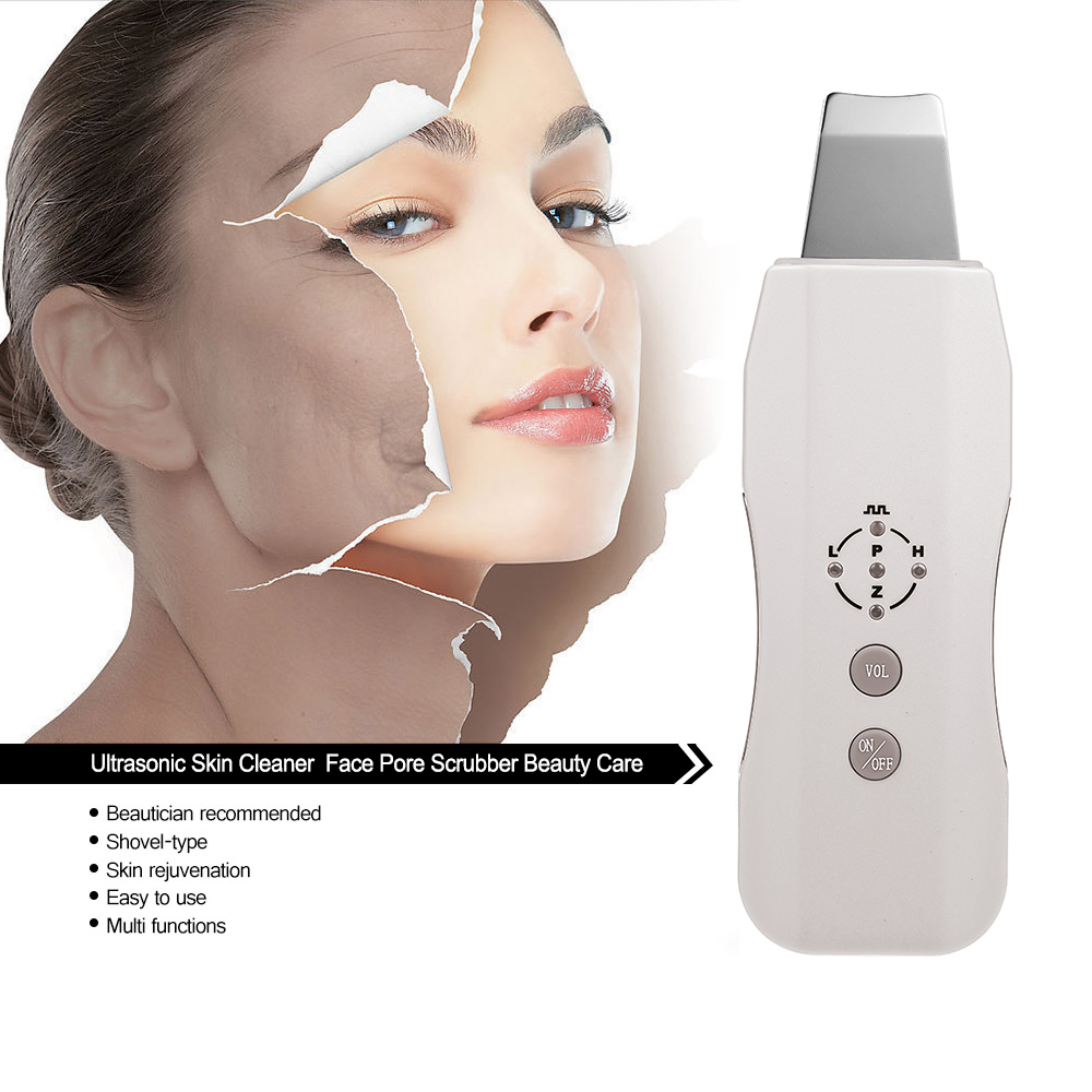 Sonic Skin Cleaner Ultrasonic Face Pore Scrubber Facial Tighten Peeling Shovel Exfoliator Blackhead Removal facial pore cleanerSonic Skin Cleaner Ultrasonic Face Pore Scrubber Facial Tighten Peeling Shovel Exfoliator Blackhead Removal facial pore cleaner