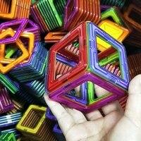 30 шт. Большие Размеры магнитные строительные блоки треугольные квадратные кирпичи Магнитный дизайнерский Строительный набор образователь...