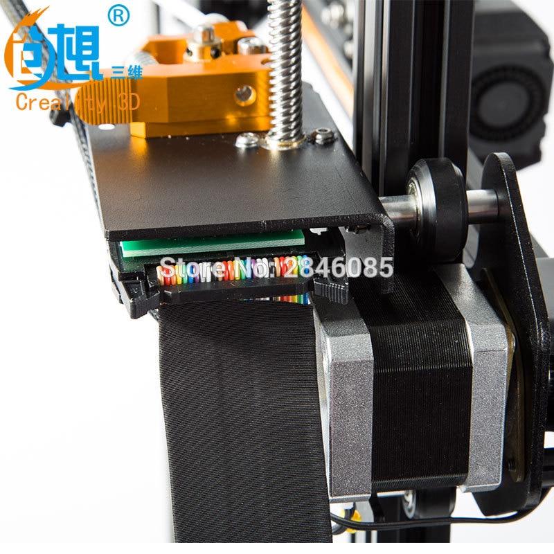 Creality 3D CR X 3D impresora de doble color opcional DIY KIT de pantalla táctil de 4,3 pulgadas de gran tamaño de impresión Dual ventilador de refrigeración v slot aluminio - 3