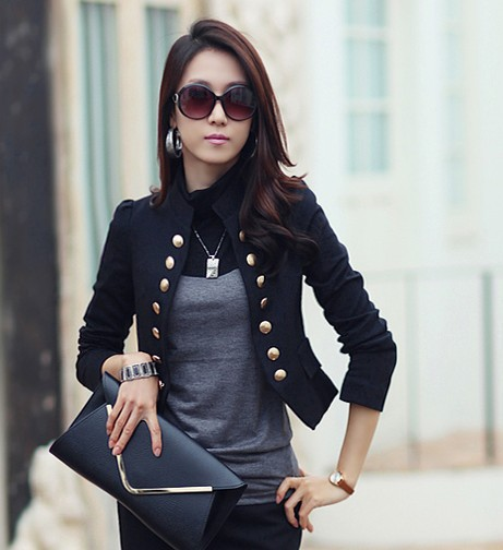 Online Get Cheap Black and White Blazer Jacket -Aliexpress.com ...