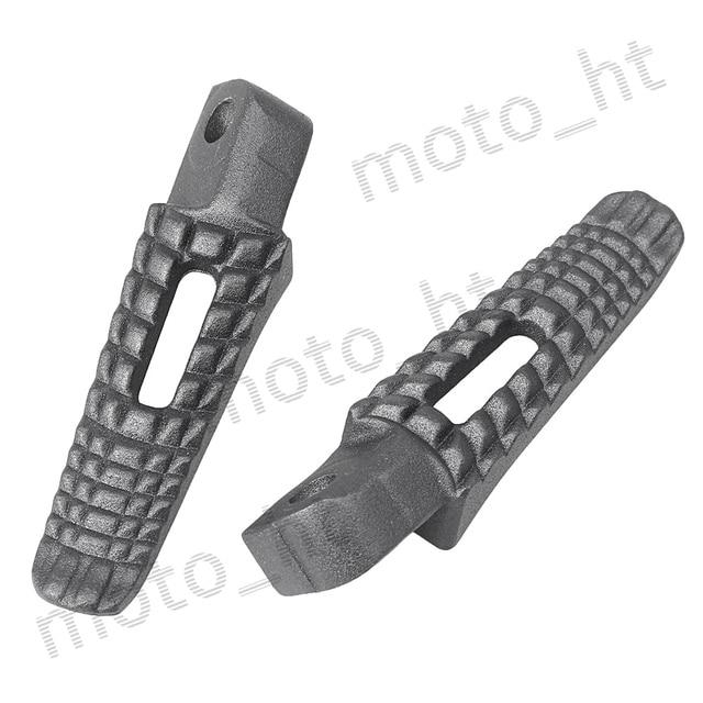 Aluminum Alloy Passenger Rear Foot Pegs Footrest Brackets for Suzuki GSXR 600 750 K8 2008 2009 2010 Black