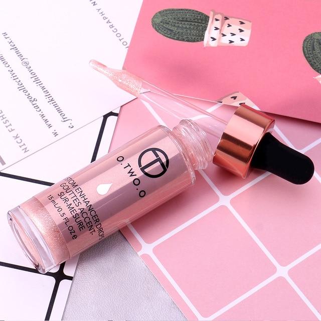 O. DEUX. O Liquide Surligneur Maquillage Amorce Shimmer Éclat Visage Ultra-concentré éclairante bronzage gouttes Visage Maquillage 3