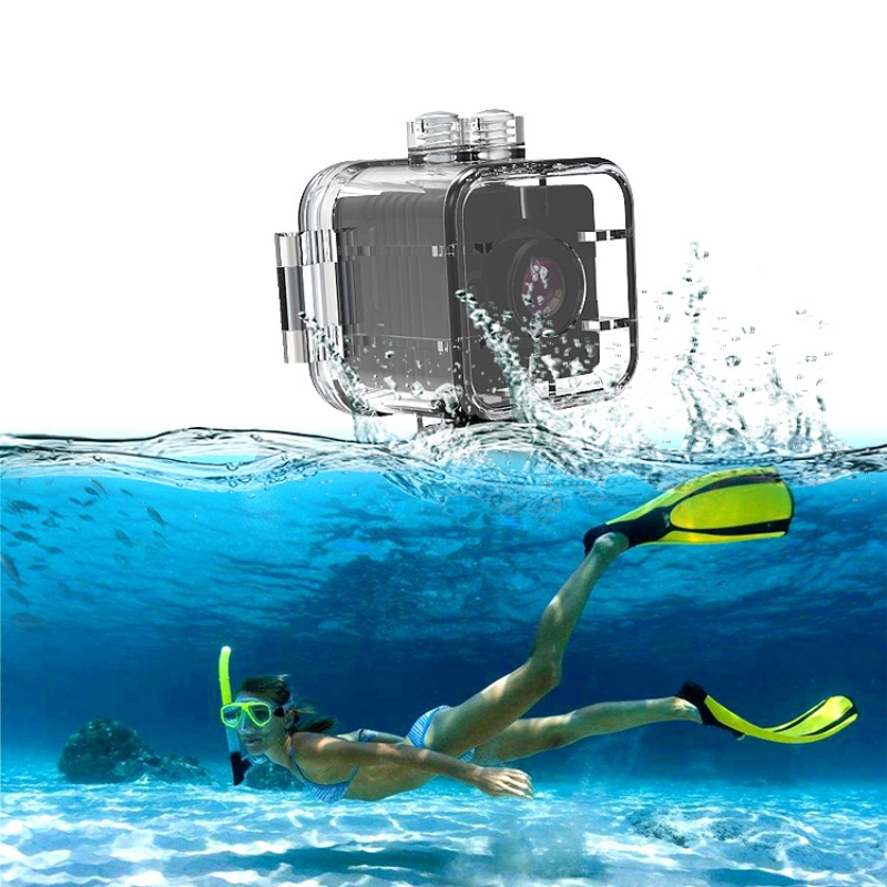 SQ12 HD 1080 p Mini Caméra Night Vision Grand Angle Étanche Mini Caméscope DV Voix Vidéo Enregistreur Caméras D'action