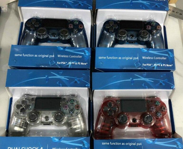 Blau Sechs-achse 2nd Generation Für PS4 Gamepad controller ps4 wireless game controller ps4 Bluetooth 4,0 neue mit lichter