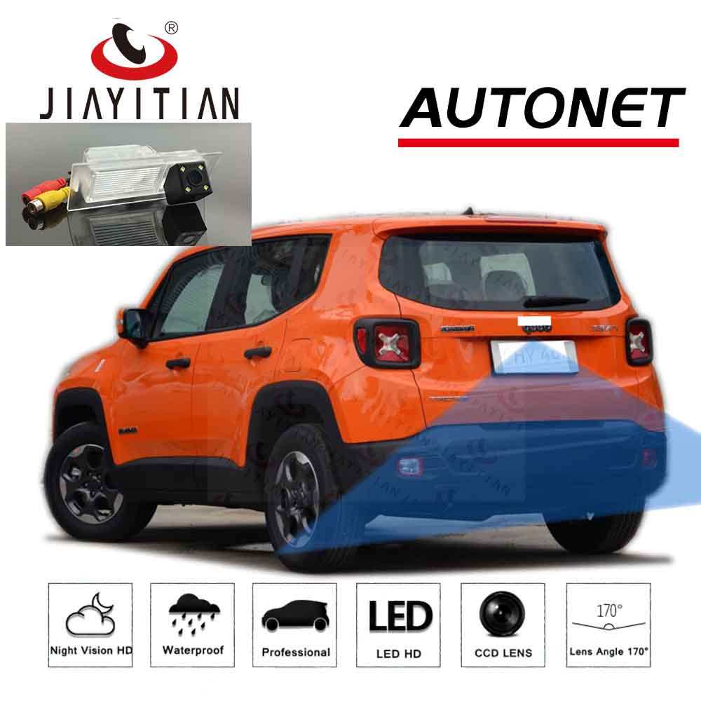 JIAYITIAN Rear View Camera For Jeep Renegade 2015 2016 2017 2018 2019 2020 CCD HD Night Vision Parking Reverse Backup Camera