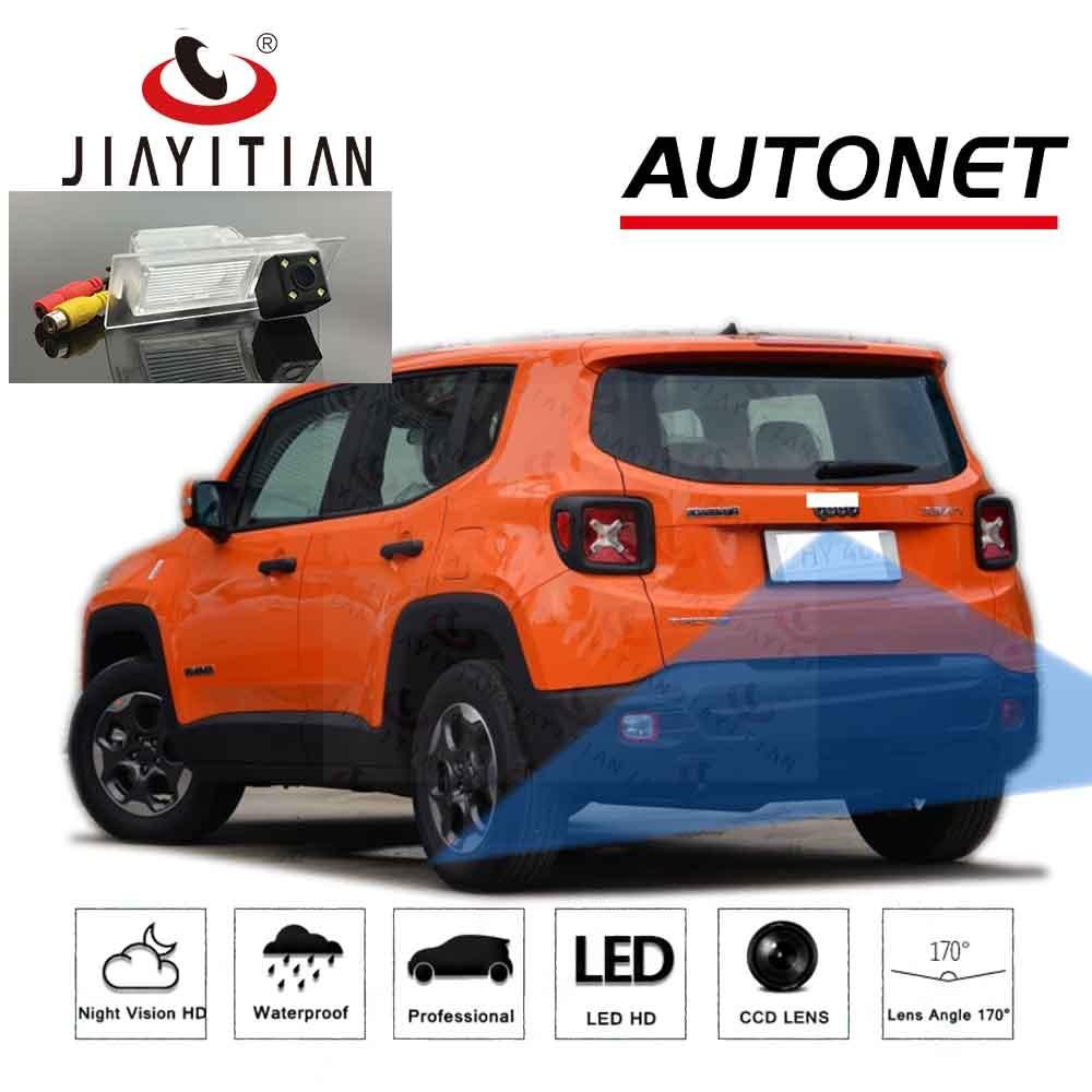JIAYITIAN Rear View Camera For Jeep Renegade 2015 2016 2017 2018 2019 2020 CCD HD Night Vision Parking Reverse Backup Camera