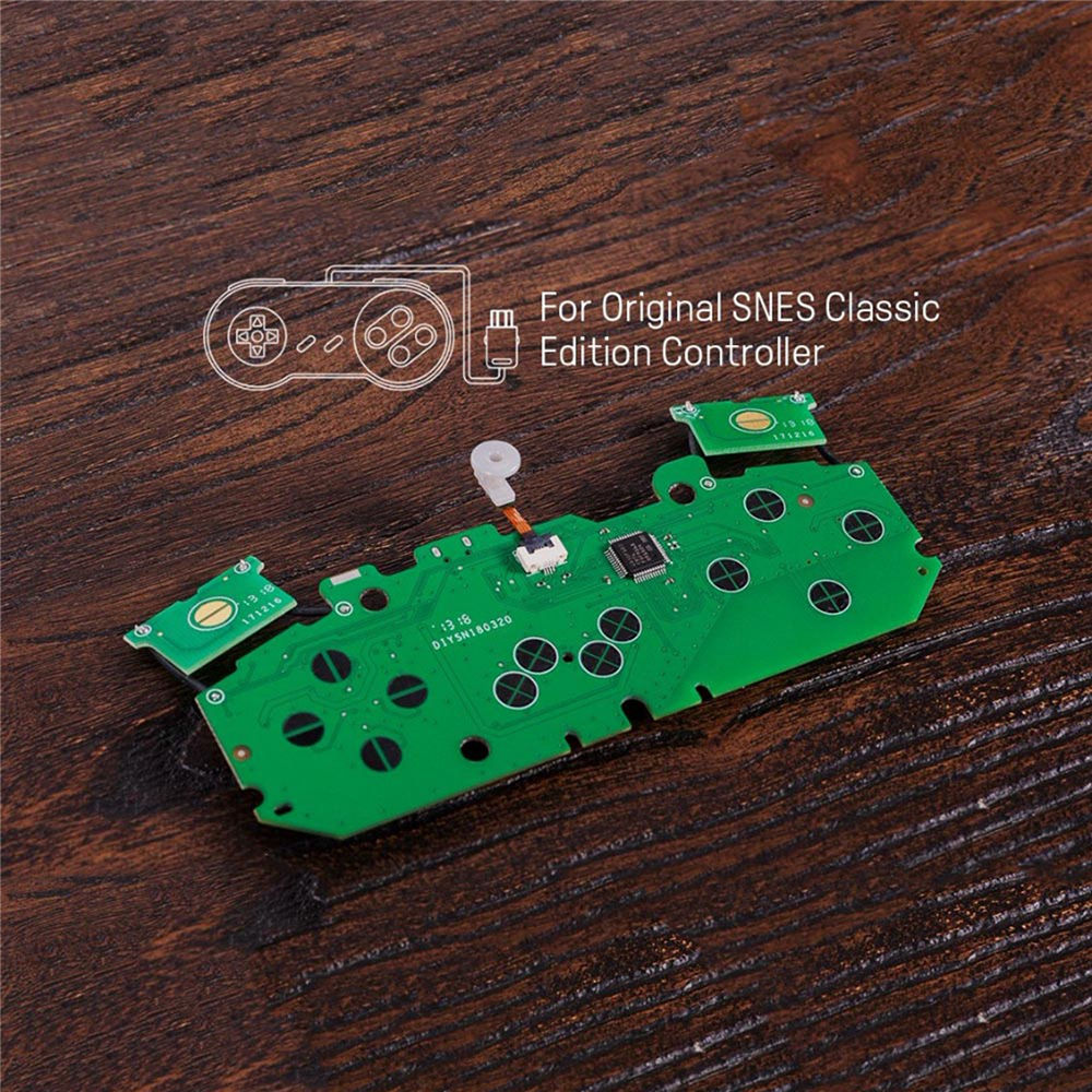 8BitDo Mod Kit parts for SNES Classic Edition Controller DIY SNES Classic Controller to Bluetooth Gamepad