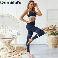New Yoga Bodybuilding Vest Set Women Fashion Tight Trousers Motion Suit Bra Pants Woman Fitness Sport gym Clothing Suits