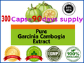 (85% HCA) потеря веса диета продукт эффективен сжигатель жира Чисто garcinia cambogia продуктов для похудения 400 мг х 300 шт.