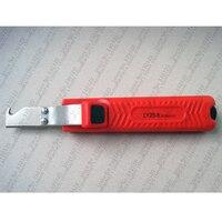 LY25-6 stripper Cabo stripper faca de borracha  PVC  PTTE silicone cabo de faca descascar faca eletricista