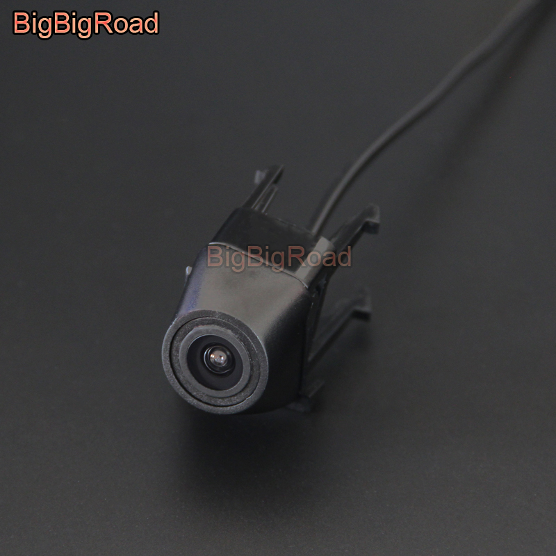 BigBigRoad For BMW 3 Series 318i 320i 325i 2012 / F30 F31 F34 2011-2018 / E90 E91 E92 E93 2004-2013 Car Front Grille View Camera car bight glossy black double slat front grille grill for bmw e92 lci facelift e93 2011 2012 2013 c 5