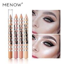Facial concealer High-gloss foundation contour stick beauty makeup cream camouflageSilkworm pen